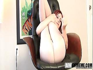 Teen Redhead Jerk Off Encouragement