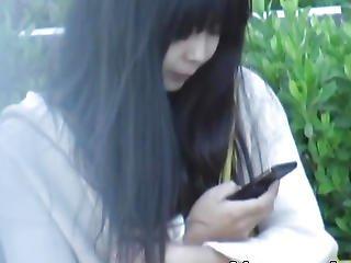 Japan Teenager Rubbing