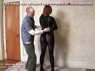 Bondage Girl In Straitjacket
