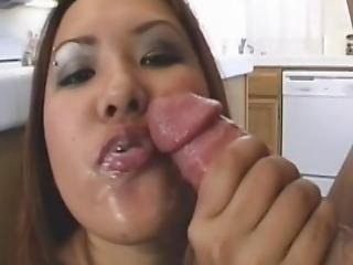Cute Asian Bitch Getting Her Tight Wet Pussy Fucked