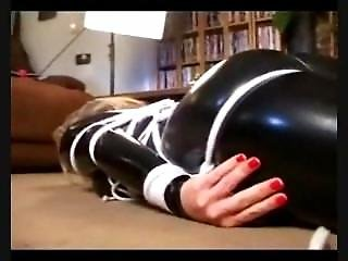Catsuit, Fetish, Humping, Orgasm