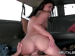 Splendid Teen Stuffing Her Slit With Huge Dick