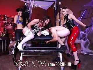 Goddesses Ass Fuck New Slaves For Halloween