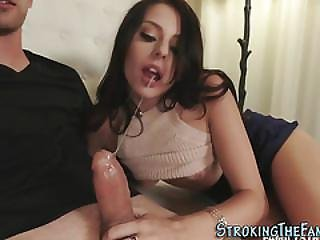 Teen Babe Giving Head