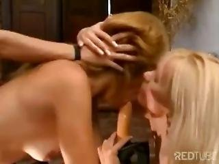 Aby Antonelli Threesome Blonde Milf
