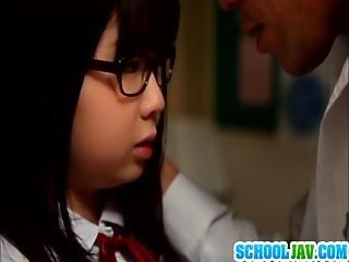 Schoolgirl Aimi In Hardcore Action