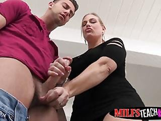 Stepmom Angel And Daughter Angel Doubleteam A Lucky Dude