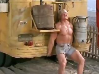 Bodybuilder Lifts Bus