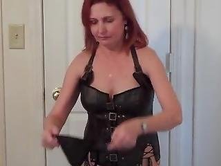 Redhot Redhead Show 2-4-2017 Pt. 1 (posing Bottomless In