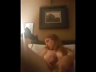 Teen Girl Pleasures Herself With Banana