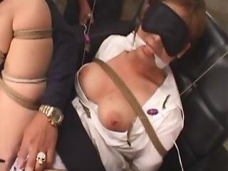 Asian Office Worker Submited To A Precise Bondagesession
