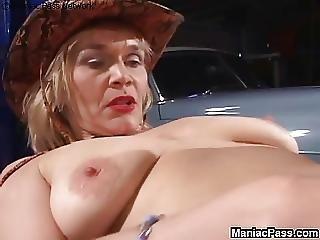Blondi, Lesbo, Vanha, Vanhempi Nainen, Seksi, Lelut