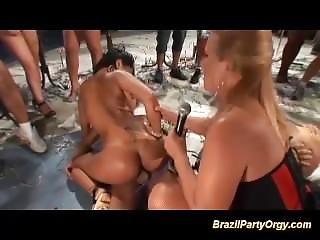 Brazilian Wild Party Orgy