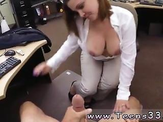Emma Mae Pov Blowjob Foxy Business Lady Gets Fucked!