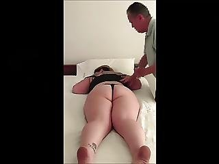 Big Beautiful Woman Acquires A Rub Gives A Blow