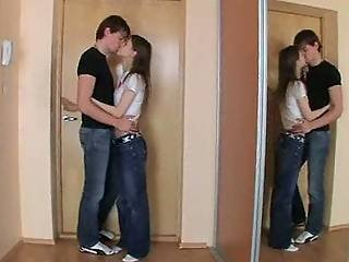 Extreme Teen Anal Sex On The Floor
