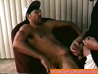 Straight Amateur Makes Gay Guy Cum