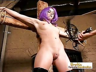 Bdsm, Bondage, Lesbian, Mistress, Slave, Spanking, Strapon