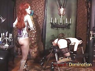 Gagged Slave Takes Everything The Mistress Has Planned