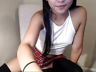 amatoriale, asiatica, masturbazione, sexy, Adolescente, webcam
