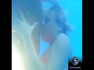 Threesome Lesbian Sex At The Pool With Mary Juli And Nelli
