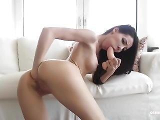 Hot Teen Fists Her Pussy And Ass