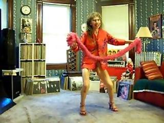 댄스, 발 뒤꿈치, 다리