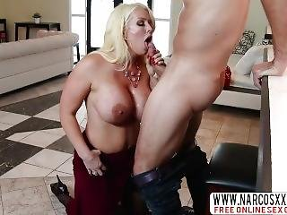 Loyal Step-sis Alura Jenson Anal In Stockings