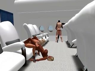samolot, orgia