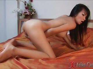 Thailand Mintra Pussy Masturbation