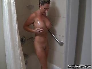Big Tits Milf Behind The Scenes
