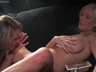 Smokeymouths Michelle B And Amber Leigh Smoking Lesbian Sex