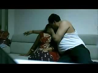Boss Enjoy Amp Fucking With Her Indian Aunty
