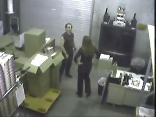 verborgen camera, secretaresse, gluurder