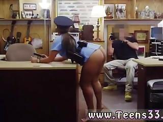 素人, 精液をショット, 初回, ファッキング, ひっかける, オフィス, 警察, パブリック