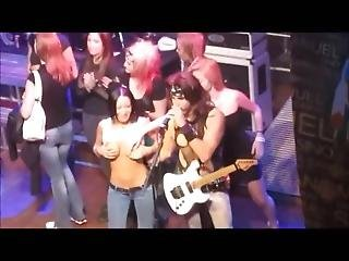 Tits Out At Rock Concerts - More