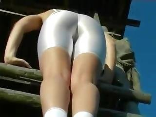 Climbing In White Spandex Part 1 Hd 790
