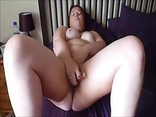 Hot Bbw Masturbating On Cam Using A Sex Toy