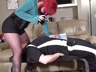 aufs gesicht setzen, fetisch
