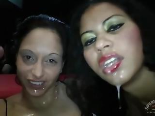 Tekohas And Nicki Sweetheart Gangbanged