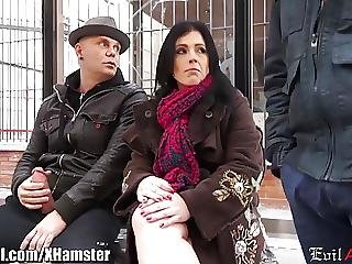 Spanish Milf Picked Up In Public And Dpd