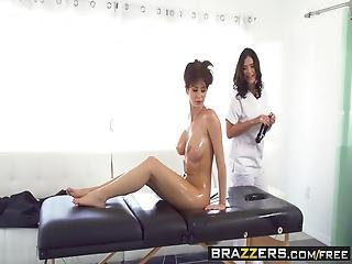 Brazzers - Hot And Mean - Emily Addison And Violet Starr -  A Hardcore Massage From Hell