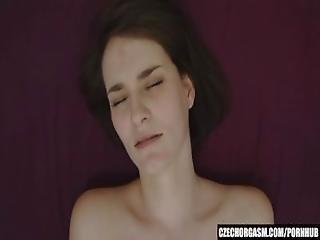 Amatoriale, Mora, Ceca, Con Le Dita, Casa, Fatto In Casa, Masturbazione, Orgasmo, Fica, Da Sola