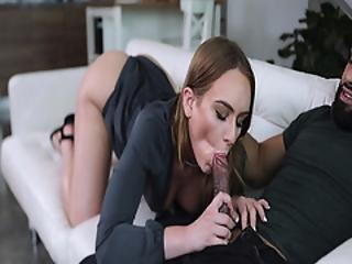 Daisy Stone Sucking Up And Riding Perky Fuckers Big Cock