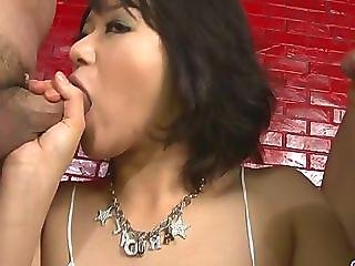 Kinky Woman Gagging Hard Pricks And Double Penetrated