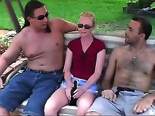 We Were Out By The Pool When Amanda Showed Up To Clean It. Little Did She Know The Only Work That Was Going To Get Done Was Us Working On Her Tight Little Milf Pussy. What This Milf Was Lacking In Chest Size She Made Up For In Cock Sucking Skills! We Gave
