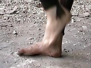 Barefoot Dirty Feet