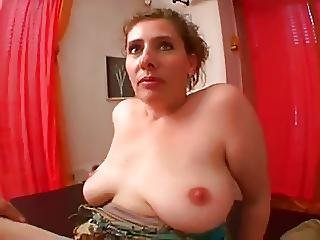 Sweet Mom With Flabby Saggy Tits And Guy