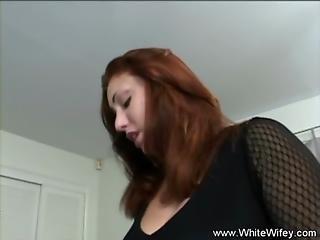 White Wifey Tries Fucking Bbc