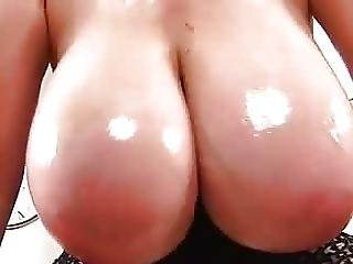 Big Oily Vieny Tits